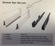 1 x alto-164 drawer runners kitchen vanity 400mm soft close CABINET cupboard pot