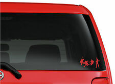 The Beatles Jump A Hard Days Night cut vinyl window/bumper stickers