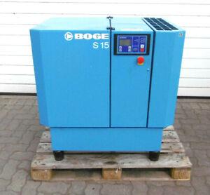 Boge Schraubenkompressor S15 | Bj. 2004 | 11kW | Volumenstrom 1,45 m³/min