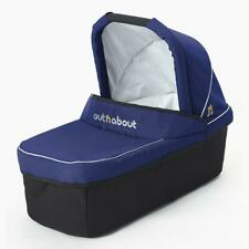 Out n About Nipper Single Carrycot (Royal Navy) with Mattress