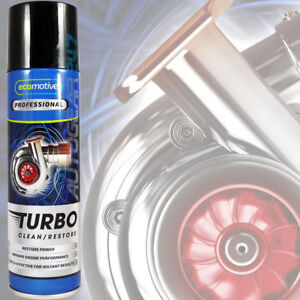 Car Engine Ecomotive Tar Carbon Turbo Charger Cleaner Restorer 250ml Spray.TC250