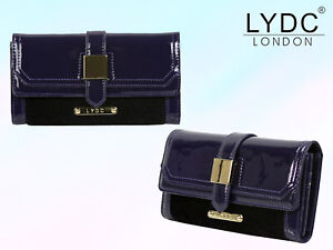 LYDC London Buckle Purse Womens Zipped Coin Notes ID Card Holder Wallet Gift Box