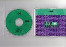 Java - 1 - RARE CD EP - 3 TRACK MAXI SINGLE - EYE Q RECORDS 011 CD - 1993