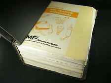 Massey Ferguson Tractor Accessories Dealer Parts Reference Manuals 1980s 1990s