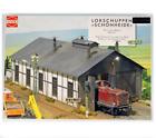 BUSCH H0 1423 HO KIT Half-timbered locomotive shed , LOCKSHUPPEN SCHONHEIDE