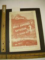 Bert Webber : What Happened BAYOCEAN Oregon Documents history Resort Jetty pics