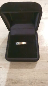 Auth Cartier Love 18K White Gold CY8470 Ring #49 US#5
