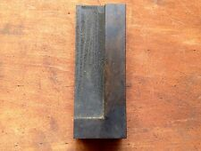 Tall Antique letterpress printers WOOD TYPE Font piece letter - L