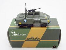Miniature Métal Tank SOLIDO militaire Combat Car Blindé M20 US