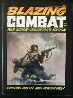 Blazing Combat #1 1965 Original Magazine Comic Book