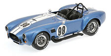Kyosho kyo8632cs 1:12 shelby cobra 427s/c - gurdsman Blue-racing screen #98 Nouveau