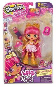 Shopkins Shoppies LIPPY LULU POMERANIAN Wild Style Doll (Series 9)