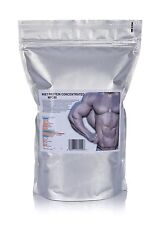 1kg Pure Whey Protein Concentrate WPC80 muscle grow unflavoured super power gym