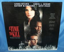 A TIME TO KILL 1996 LASERDISC WARNER BROS HOME VIDEO LASER DISC 2 DISC