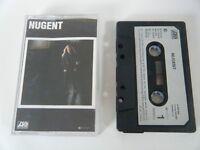 """TED NUGENT """"NUGENT"""" CASSETTE TAPE 1982 PAPER LABEL ATLANTIC"""