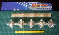 1980s/90s Capsela Constructional Set Spare Parts Motorized Capsules 1,2,3,4 & 5.
