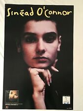 Sinead O'Connor 1990 Promo Poster Chrysalis Records I Do Not Want What I Haven't