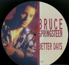 """Bruce Springsteen - 12"""" Pic Disc - Better Days - 1992 Columbia 657890 8-Unplayed"""