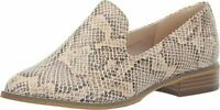 Indigo Rd. Women's Irhopeful3 Loafer Flat Boots Shoes Snake Print Size 7 M US