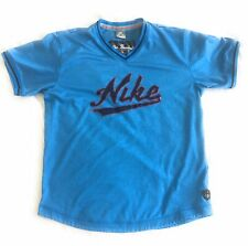 NIKE Pullover Jersey Shirt Spellout Stitched Sz XL