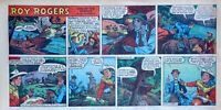 Roy Rogers by Mike Arens - full color Sunday comic page - November 1, 1953