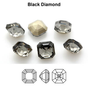 Genuine AURORA A4480 Imperial Square Fancy Stones Crystals * Many Colors & Sizes