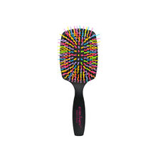 [EYECANDY] Rainbow Volume S Paddle Brush Black