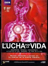 LA LUCHA POR LA VIDA. serie documental completa de BBC 6 dvd.