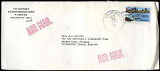 Spain 1986 Commercial Air Mail Cover To England #C30390