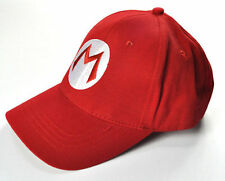 Adult and Kids One Size Fit Costume Hat Unisex Mario Cosplay Cap NEW#A