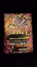 Pokemon Japanese Mega Mewtwo EX 63/059 Full Art Holo Card Red Flash BREAKthrough