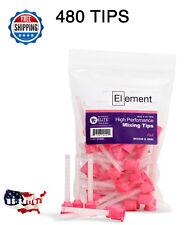 480 HP PINK MEDIUM Mixing Tips 5.4 mm Dental VPS / PVS Impression Genuine Mixpac