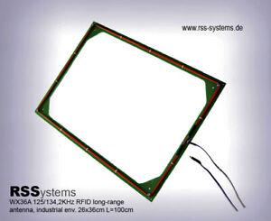 RFID LF IND. LONG-RANGE PAD ANTENNA 125/134,2KHz,Max. 55cm Read-range, L=100cm