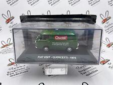 """DIE CAST """" FIAT 850T QUERCETTI 1975 """" PUBBLICITARI 1/43"""
