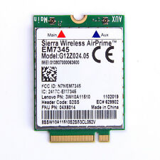 GOBI5000 EM7345 LTE 04x6014 T440 X240 WWAN HSPA+ EVDO 42Mbps 4G Module NGFF Card