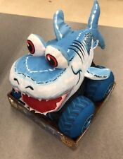 "Monster Jam Megalodon Shark Plush Truckin' Pals Toy New 12"" Free Shipping"