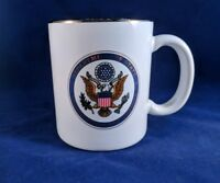 Department of State Seal Mug Made in USA Gold Color Rim