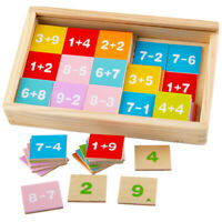 Bigjigs Toys Wooden Add & Subtract Box Math Educational Sums Learn School
