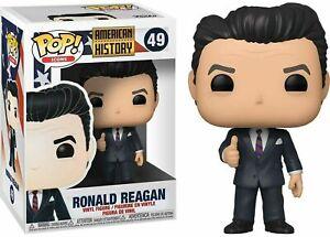 FUNKO Pop 2019 American History Icons Vinyl Figure #49 Ronald Reagan Republican