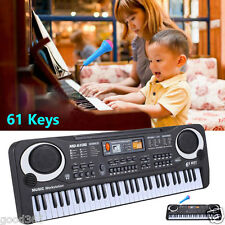 61 Keys Digital Music Electronic Keyboard Key Board Musical Electric Piano Gift