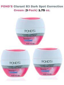 POND'S 1.75 oz  CLARANT B3 DARK SPOT CORRECTING Normal to Dry Skin CREAM (3Pack)