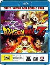 Dragon Ball Z: Super Saiyan God Double Pack - 2 DISC SET (2016, Blu-ray NEW)