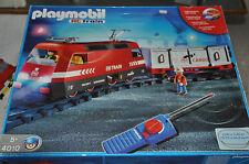 Playmobil Eisenbahn 4010 RC Train Set komplett mit Schienen - OVP