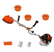 2in1 52cc Strimmer Brush Cutter with 3 x Dual Line Spools and Brush Cutter Blade