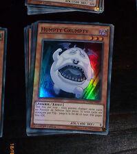 Yu-Gi-Oh SUPER RARE HOLO CARD CARTE WSUP-FR037 HUMPTY GRUMPTY FR VF X3 PAR 3