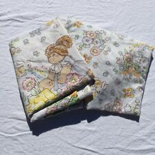 Cabbage Patch Kids Twin Flat & Fitted Sheet Set Preformance Products A