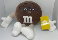 M&M's World Brown Character Big Face Plush New with Tags