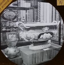 Vase from Sèvres, France,Lamp from an Arabian Mosque,  Magic Lantern Glass Slide