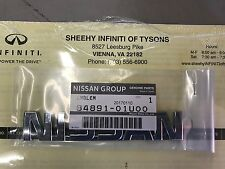 "JDM Nissan Skyline R32 GT-R GTR Rear Trunk Boot ""Nissan"" Emblem 84891-01U00 OEM!"