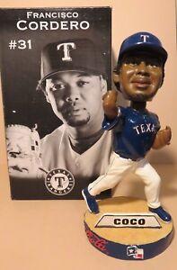 Francisco Coco Cordero #31 MLB Texas Rangers Bobblehead 2005 BD&A